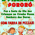Pizzaria Pororó faz festa do Dia da Crianças com farra de pizza, em Mairi-BA