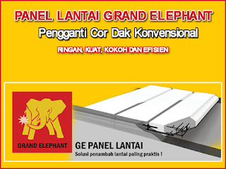 Jual Bata Ringan Lamongan, Jual Panel Lantai Grand Elephant Di Lamongan