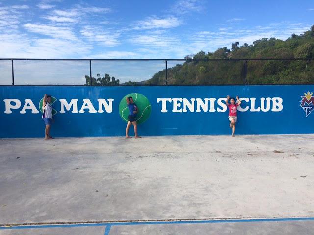 Tennis Court @ Pacman Beach Resort Complex