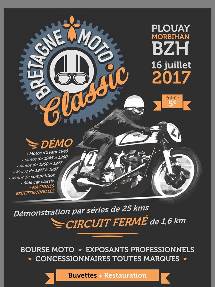 motorbike event france bretagne moto classic plouay 56 16 juillet 2017 v nement termin. Black Bedroom Furniture Sets. Home Design Ideas