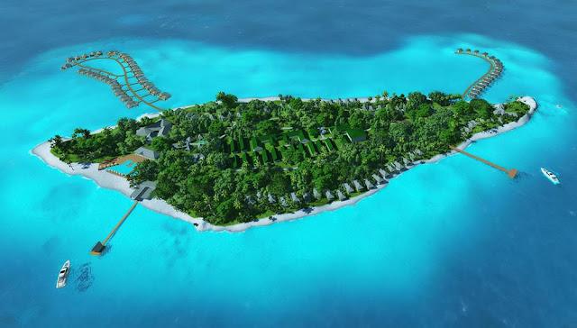 馬爾代夫南部卡夫哈魯環礁(Gaafu Dhaalu Atoll)