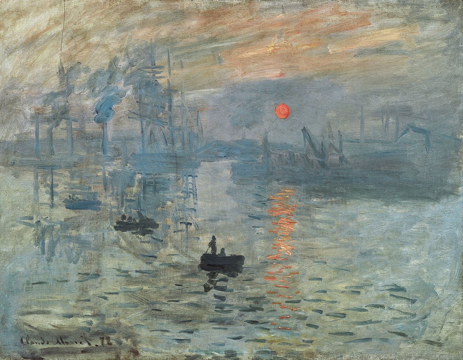 Sunrise - Impressionism Painting