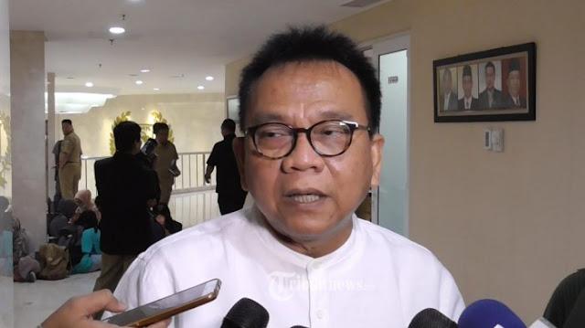 Kepedean! Elektabilitas 'Bosnya' Masih Kalah, M. Taufik: Pak Prabowo Kalau Sudah Ngapa-ngapain Lewat Tuh Pak Jokowi
