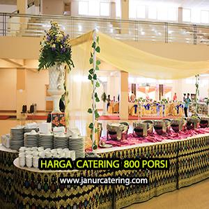 Harga Paket catering pernikahan Jakarta 800 porsi