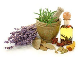 Herbs as medicines.