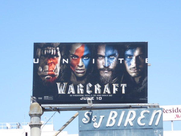Warcraft billboard