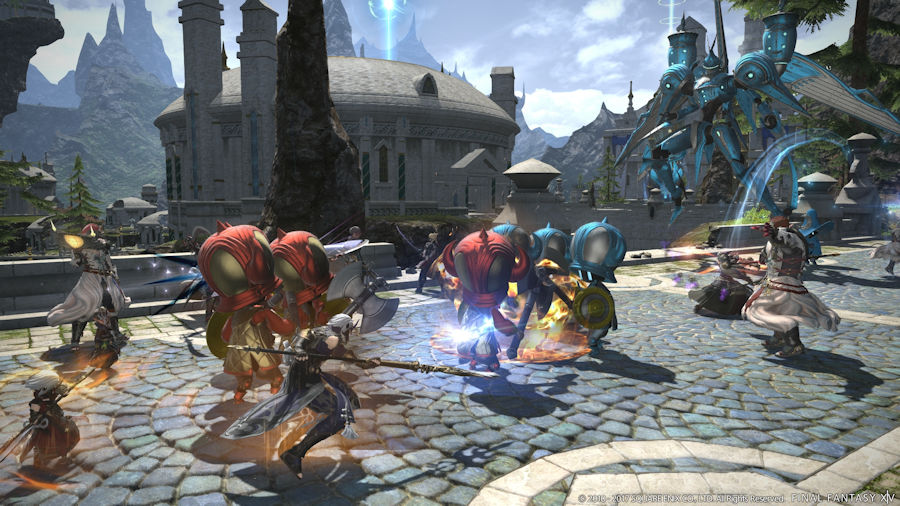 The Qwillery: Ivalice Coming to FINAL FANTASY XIV