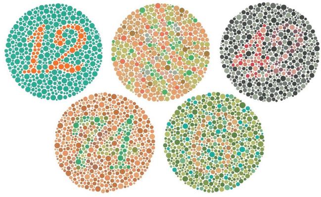 Kumpulan Contoh Tes Buta Warna Ishihara Lengkap Dengan Pengobatannya