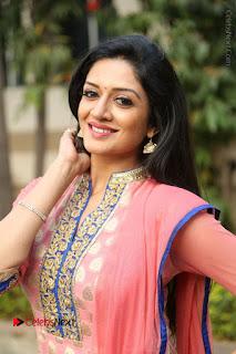 Actress Vimala Raman Stills in Beautiful Pink Salwar Kameez at (ONV) Om Namo Venkatesaya Press Meet  0163.JPG