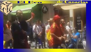 """Vídeo de """"ultras"""" españoles en Niza, Eurocopa 2016"""
