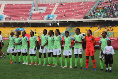 Super Falcons to play 10 friendly matches ahead of World Cup