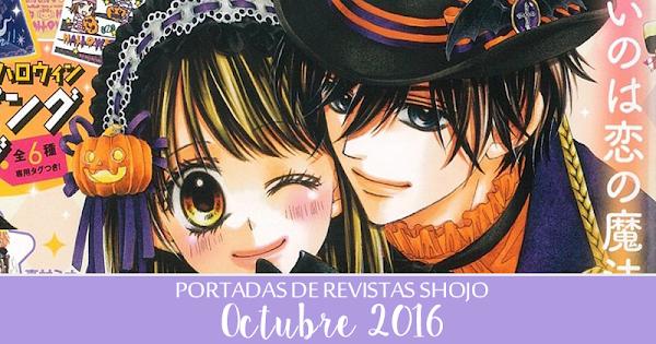 Portadas de Revistas Shojo: Octubre 2016