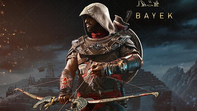 البطل Bayek أصبح متوفر الأن من خلال لعبة Assassin's Creed Odyssey وهذه طريقة الحصول عليه ..