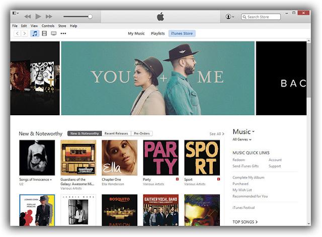iTunes 12.4 Offline Installer free