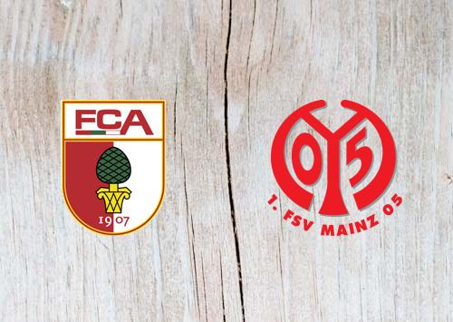 Augsburg vs Mainz 05 - Highlights 30 October 2018