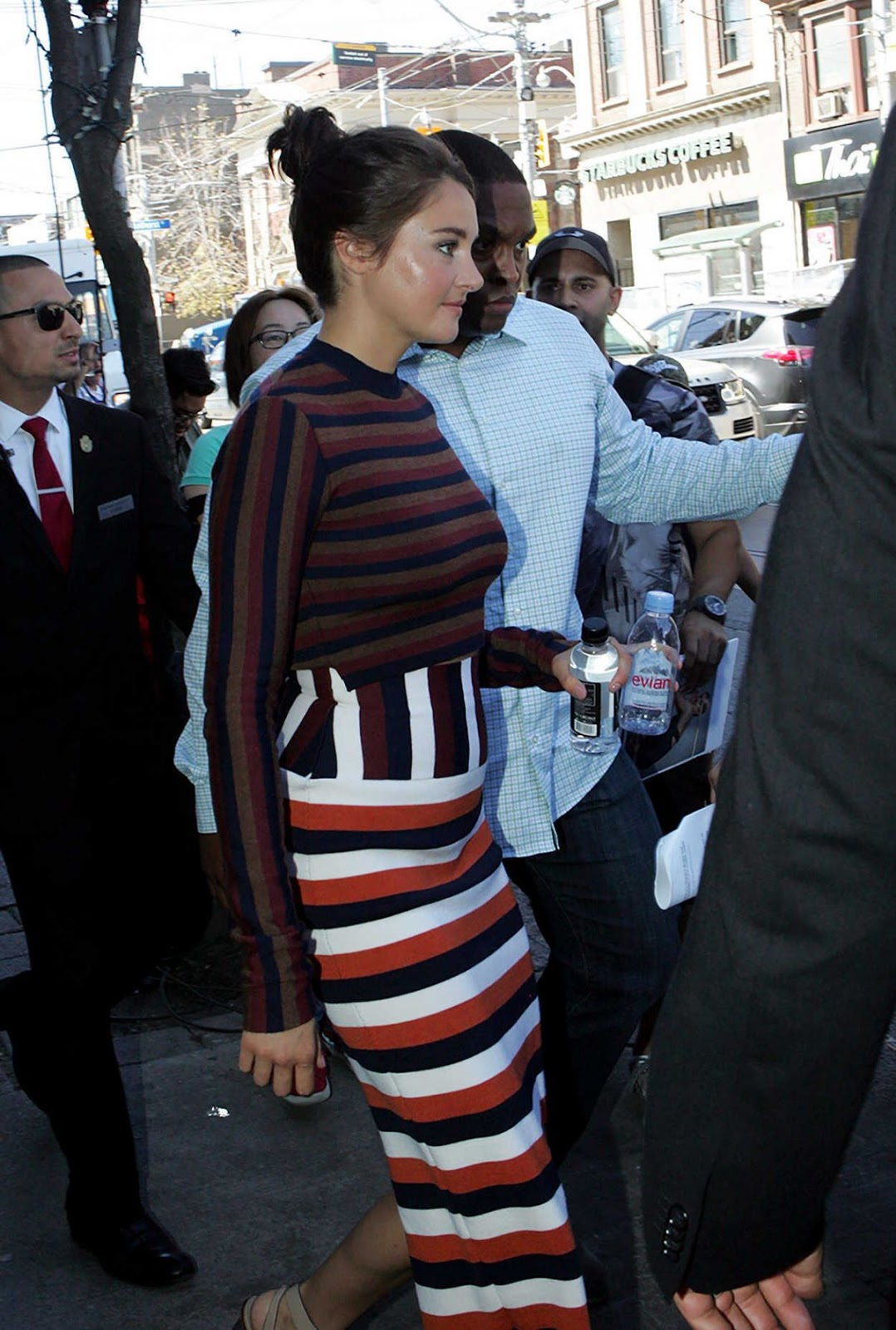 Shailene Woodley Out In Toronto