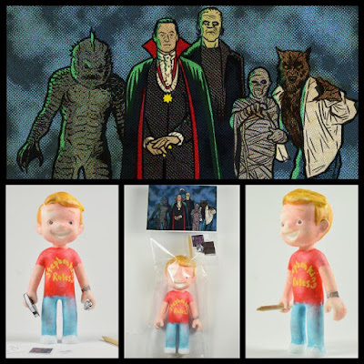 "The Monster Squad ""Monster Club Sean"" Kid Resin Figure by Super Secret Fun Club"