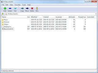 7zip screenshot