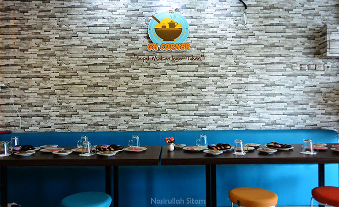 GH Corner Café & Restoran di Jogja