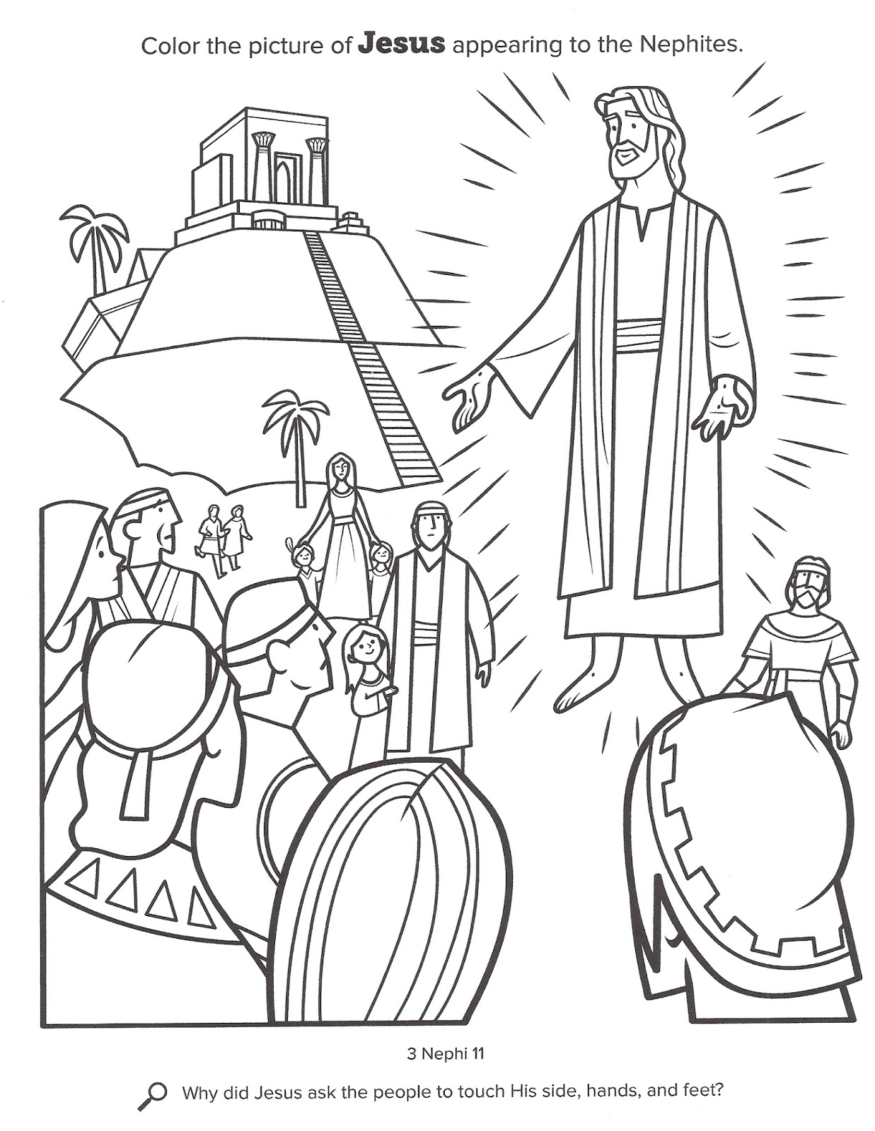 nephi coloring pages - photo#17