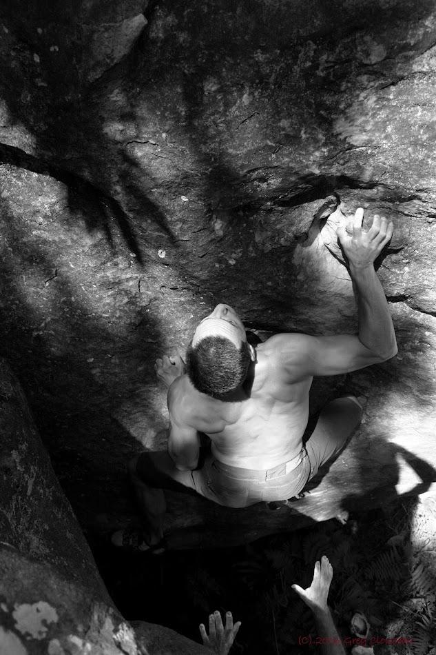 Ivan dans la Ponction Lombaire, Bois Rond, (C) 2016 Greg Clouzeau
