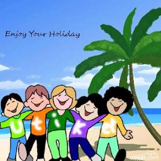 Tidak bisa liburan bersama anak? Tidak masalah