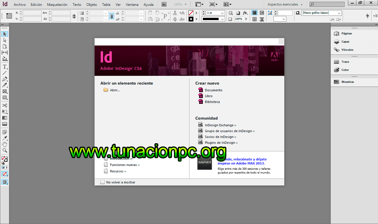 Adobe InDesing CS6