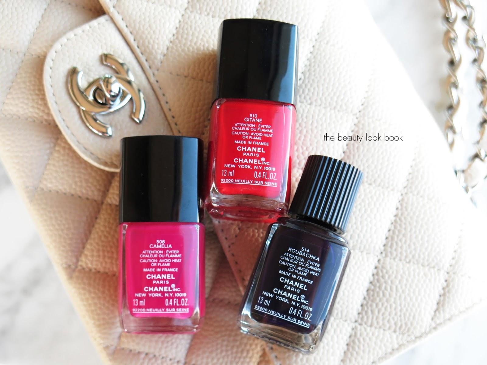 Chanel Le Vernis Longwear Nail Color and Le Gel Coat Longwear Top ...