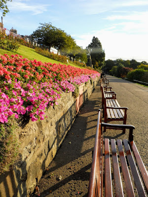 Things to do in Edinburgh in Summer: visit Princes Street Garden