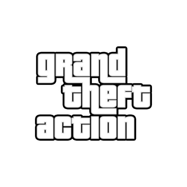 Grand Theft Auto. Текстовый эффект в стиле GTA в Фотошопе