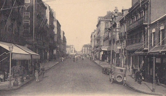Saint nazaire la ville d 39 antan st nazaire rue amiral courbet for Bureau plus st nazaire