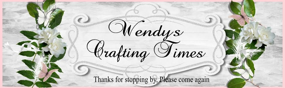 wendy`s crafting times