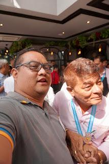 Kalami Cebu's Carlo Olano with Lechon King Rico Dionson