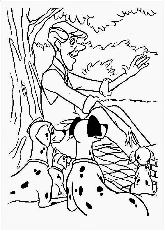 coloring pages of dalmation-#45