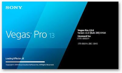 Sony Vegas Pro 13 (64-bit) logo