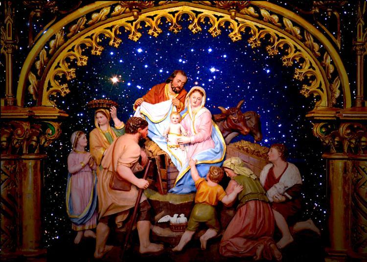 Image De Noel Jesus.Jesus Caritas Est 12 27 11