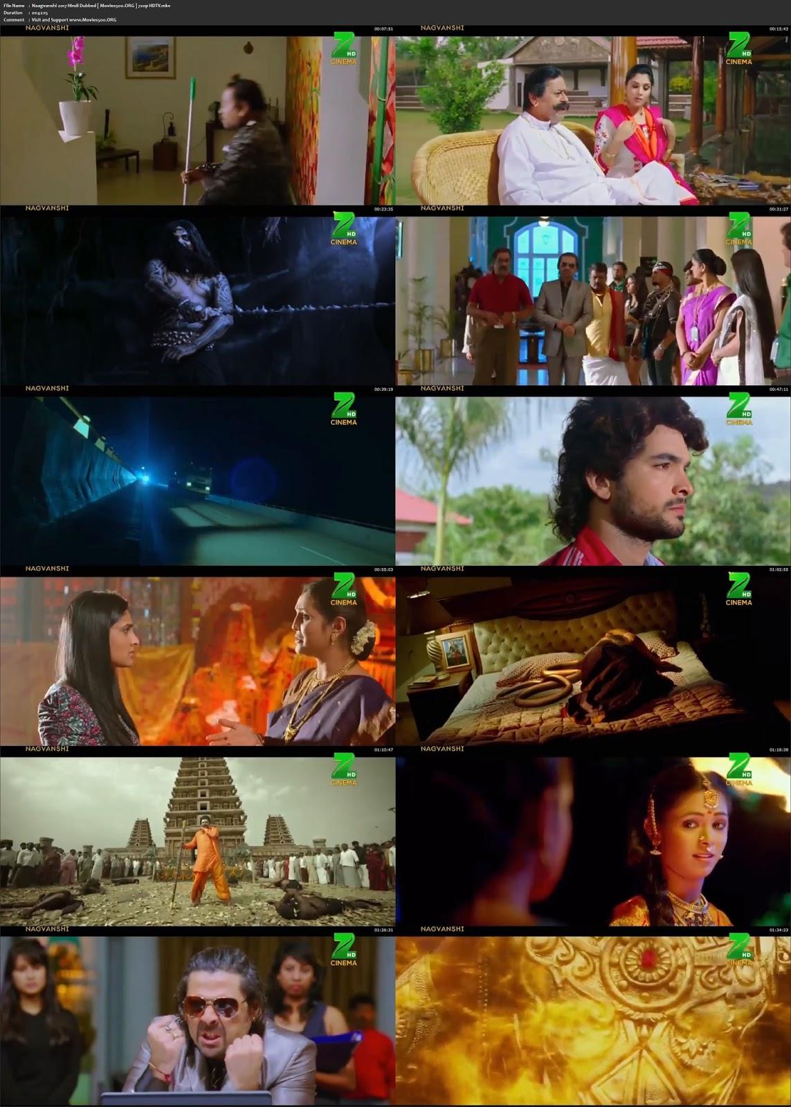 Naagvanshi 2017 Hindi Dubbed Full Movie 720p HDTV at movies500.site