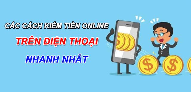 cach kiem tien tren điện thoại, kiếm tiền online trên android ios, kiếm thẻ cào