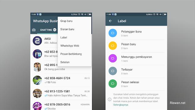 WhatsApp Business, Aplikasi Tepat Bagi Para Pebisnis - www.riswan.net