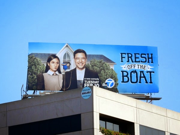 Fresh Off the Boat season 1 billboard