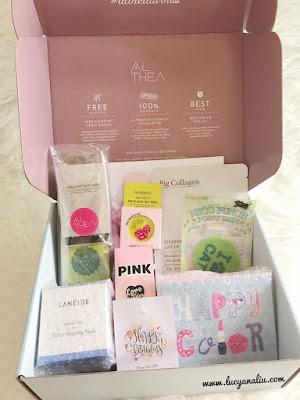 Unboxing Althea Birthday Box