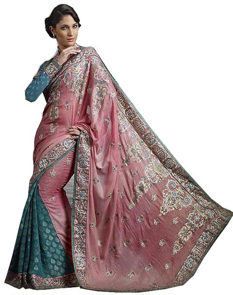 model baju sari india asli