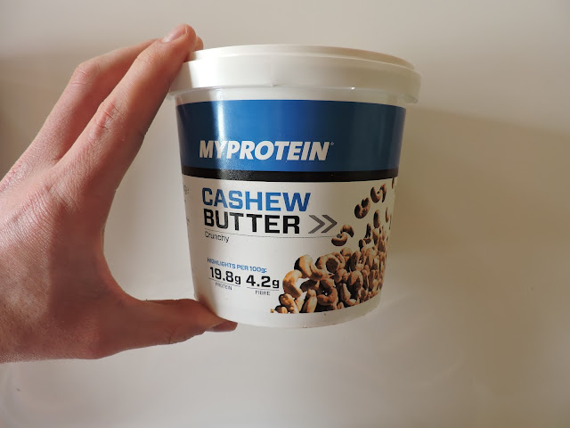 burro di anacardi proteico myprotein