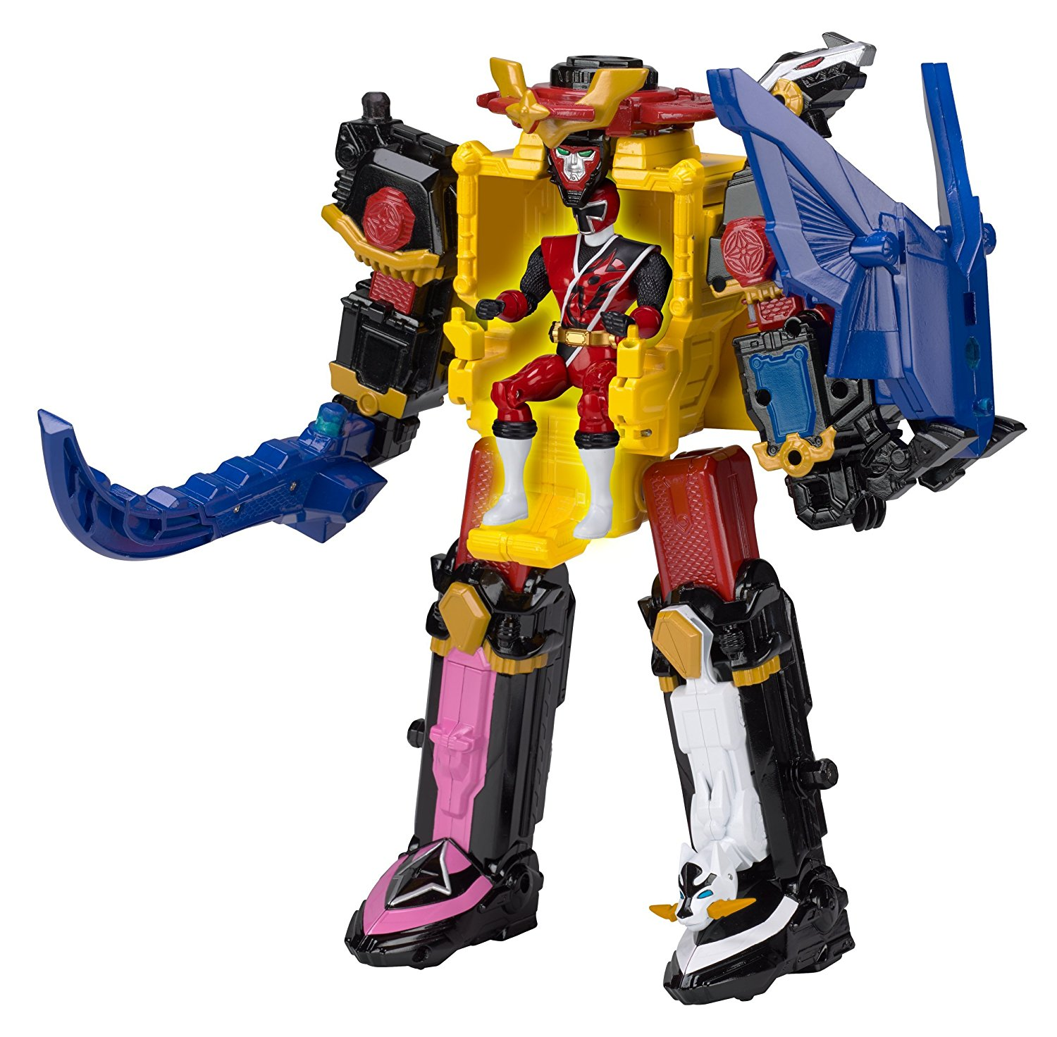 deluxe ninja steel megazord rumble tusk megazord. Black Bedroom Furniture Sets. Home Design Ideas