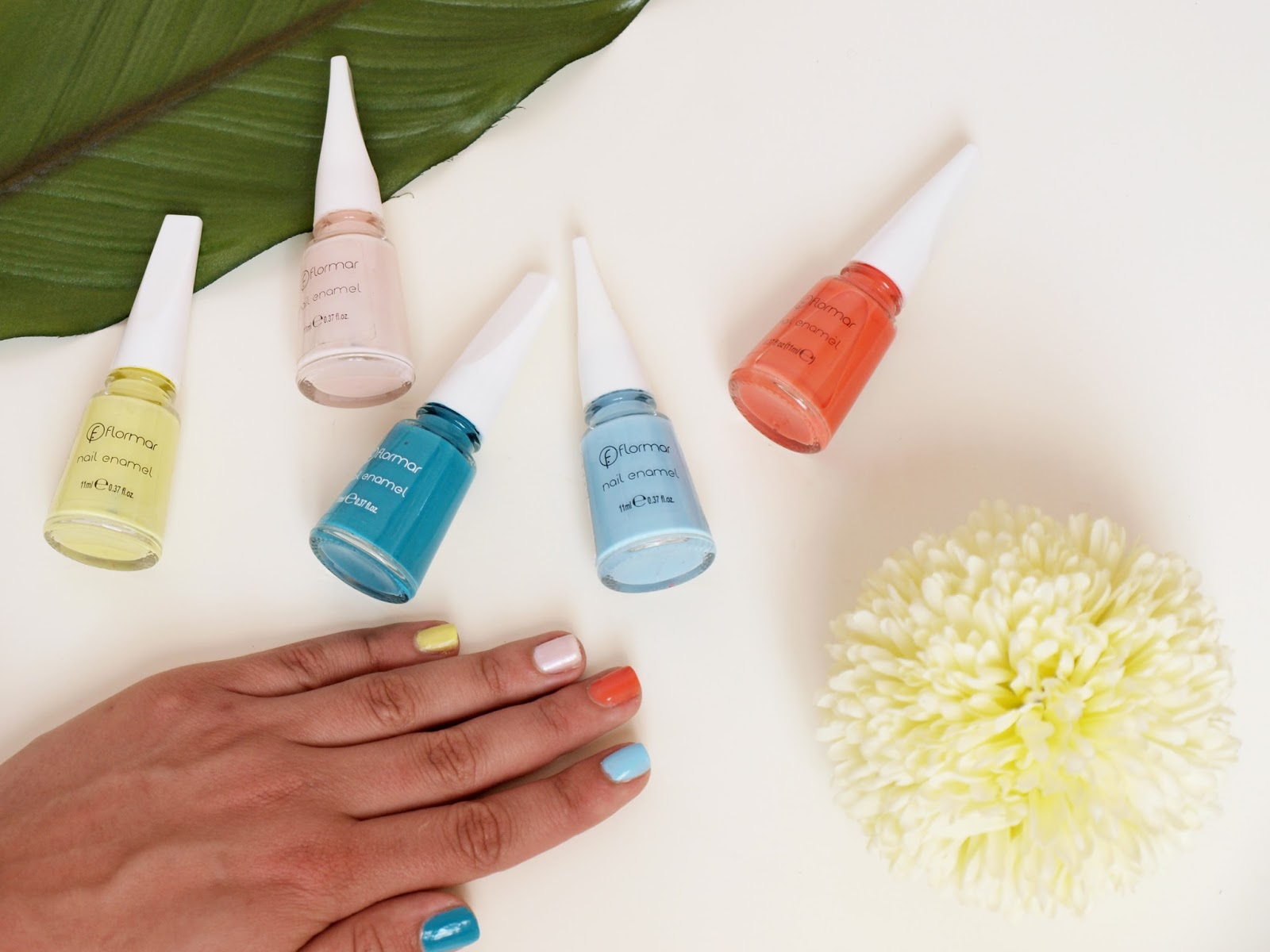 5 Nail Polish Colors That Are Perfect for Summer