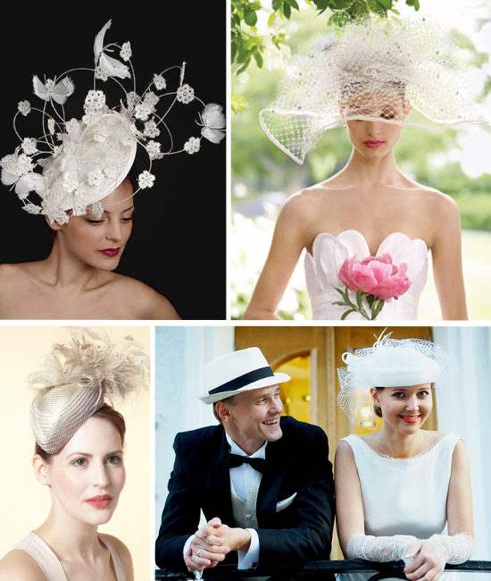 Bridal Millinery, Gina Foster Millinery,Vivien Sheriff, Quaintrelle Millinery