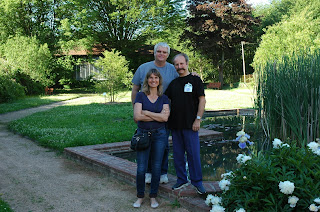 Corine et Yves avec Guy Malécot