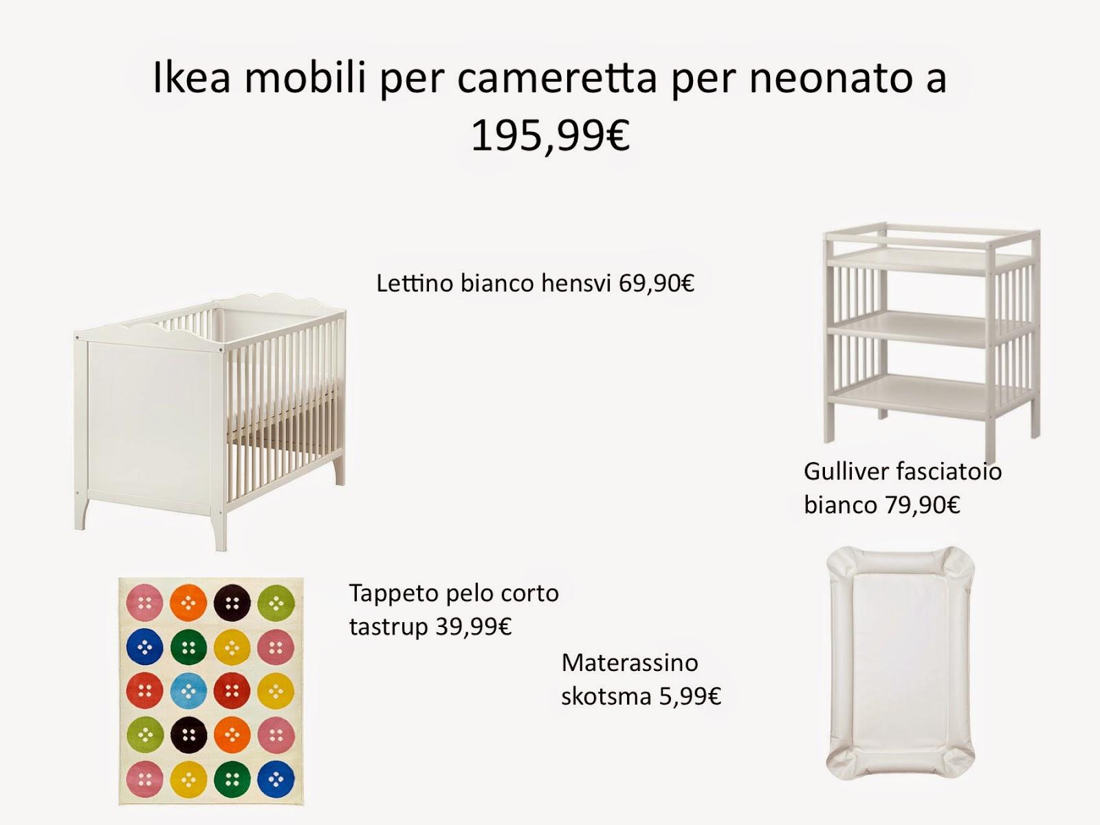 100 Metri Quadri Di Mondo Da Ikea Cameretta Per Neonato