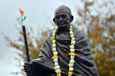 Mahatma Gandhi's Statue Unveiled in Wales