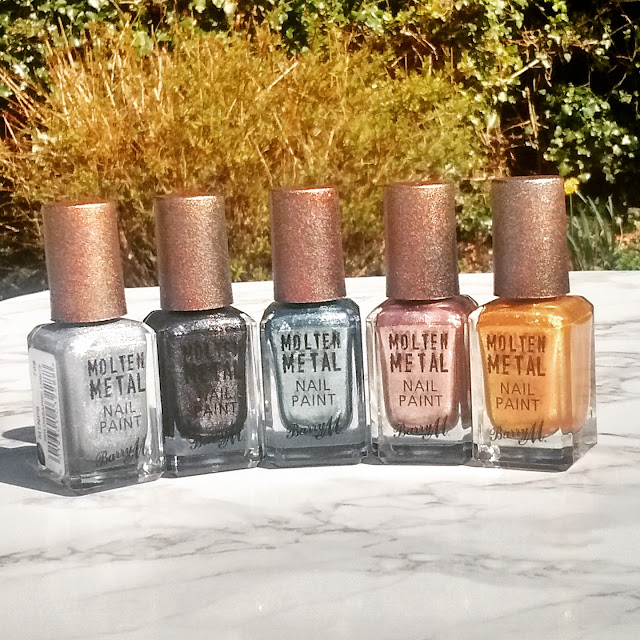 Barry M Molten Metal Nails Paint